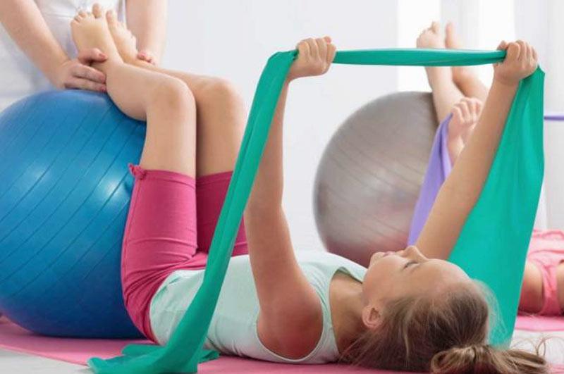 fisioterapia niños
