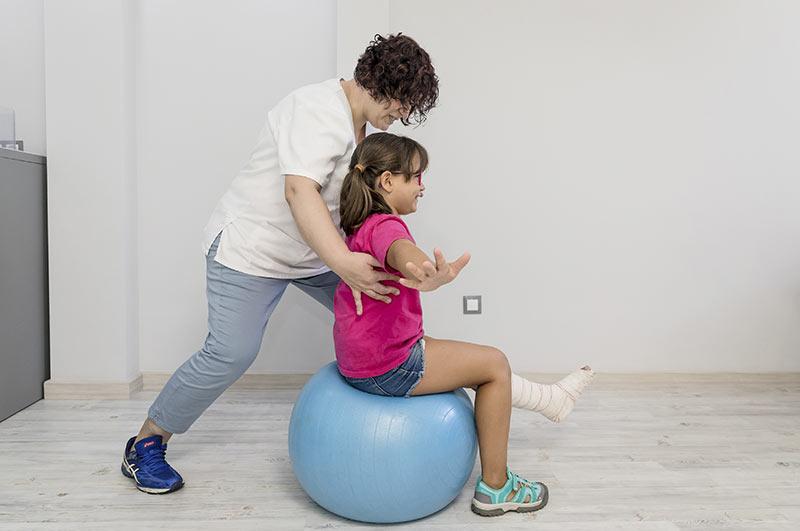 fisioterapia para niños servicio